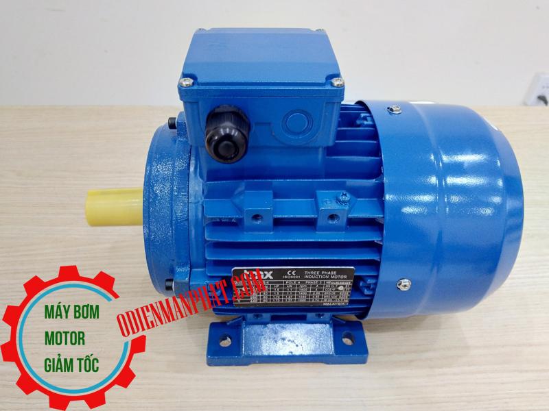 Motor động cơ điện 3PHA 3 KW - 4HP hoặc 4 mã lực (ngựa), Tốc độ vòng quay motor 1450 vòng/phút (4Pole hoặc 4 cực điện)