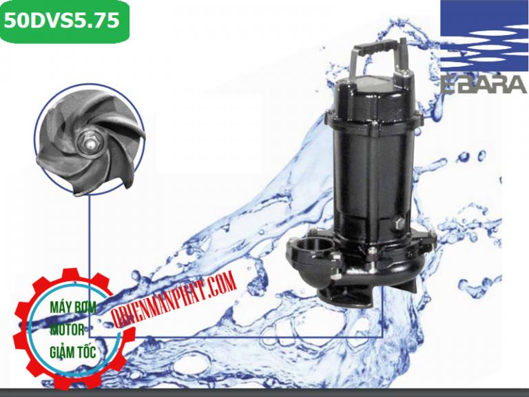 bơm chìm nước thải ebara 50DVS5.75